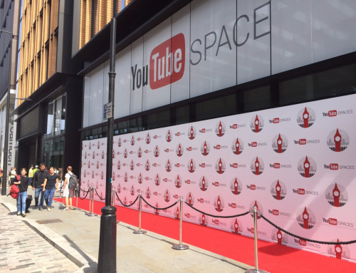 You Tube Space opened by Google in London's Kings Cross